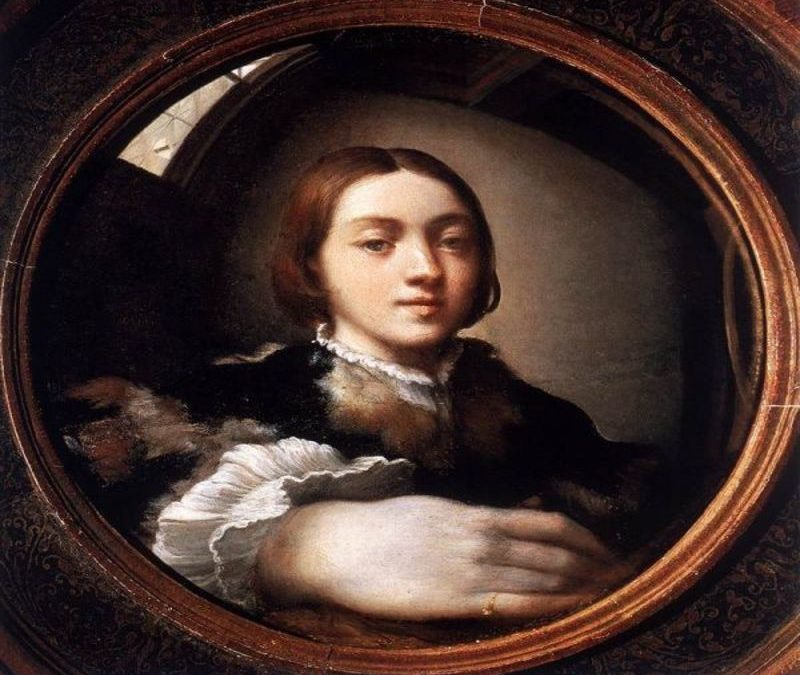 Parmigianino quando l'autoritratto diventa selfie
