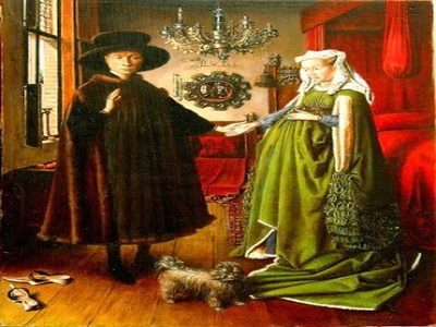 Il Mistero dei Coniugi Arnolfini tra simbolismo e specchi
