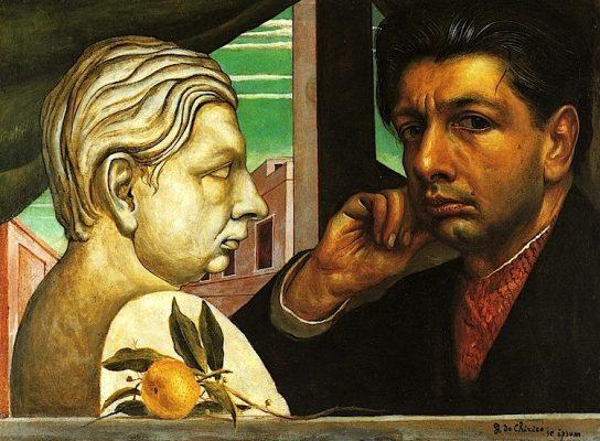 Autoritratto Giorgio De Chirico cronaca di un romantico classicista