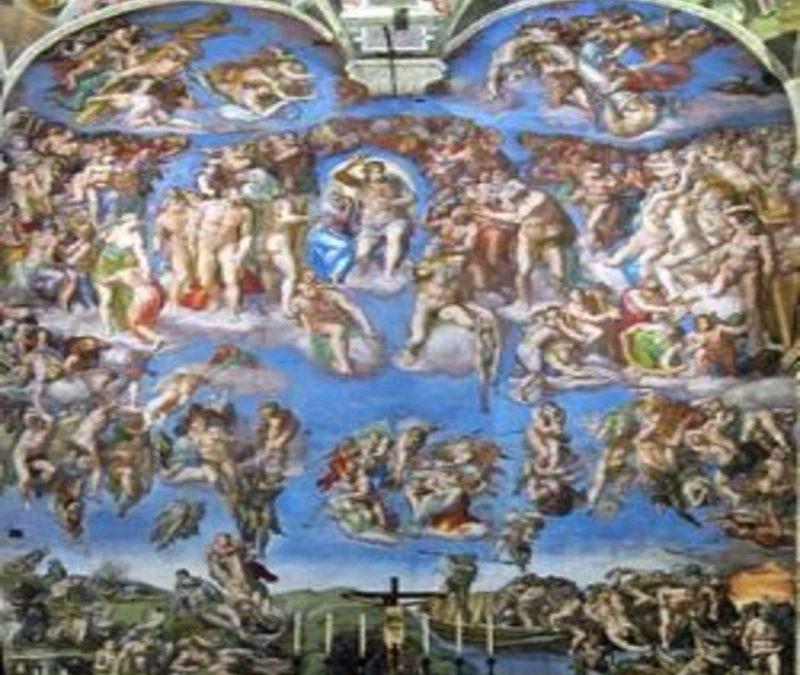 Michelangelo senza braghe tra Giudizi Universali e Divine Censure
