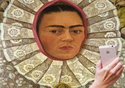 Autoritratto-Frida-Kahlo