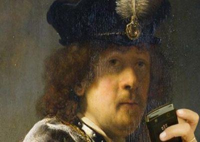 Autoritratto-Rembrandt