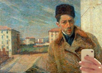 Autoritratto-Umberto-Boccioni