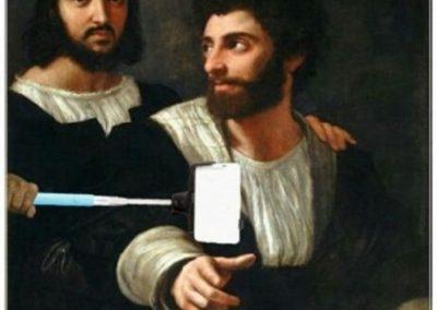 Autoritratto-con-un-amico-Raffaello-Sanzio