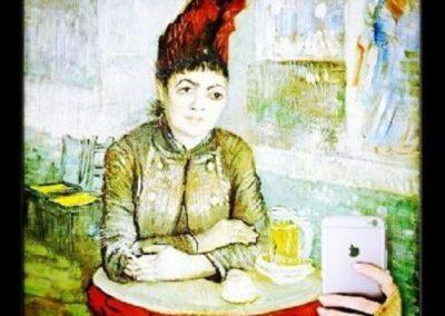 Donna-al-Cafe-le-Tambourin-Vincent-Van-Gogh