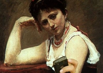 Lettura-interrotta-Jean-Baptiste-Camille-Corot