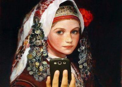 Ritratti-di-Donne-Bulgare-in-costume-Snejana-Slavova