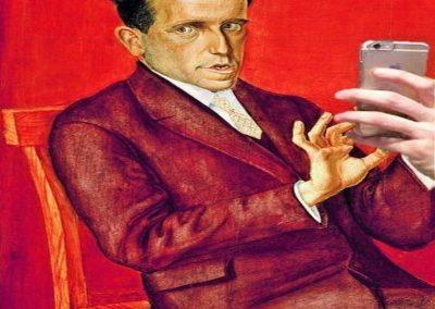 Ritratto dell'avvocato, Hugo Mimose, Otto Dix