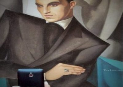 Ritratto di Marquis Sommi, Tamara Lempicka
