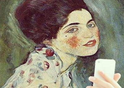 Ritratto-di-Signora-Gustave-Klimt